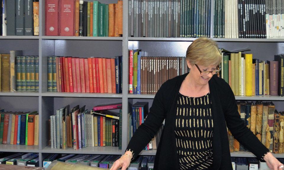 Archivist Block Yvonne Smith