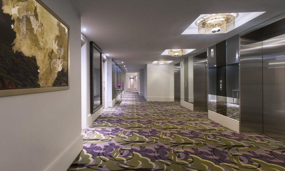 Web Sheraton Melbourne Hotel Hallway