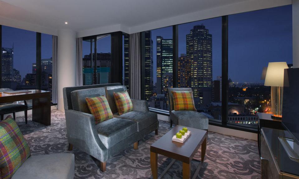Web Sheraton Melbourne Hotel Treasury Terrace Suite Lounge