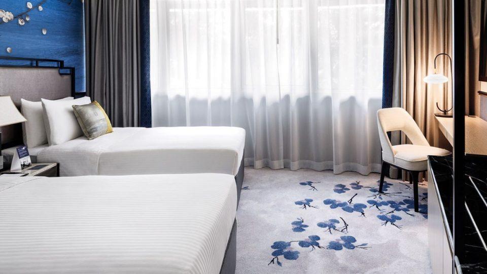 Copthorne Hotel Singapore Signature Twin 2019 block
